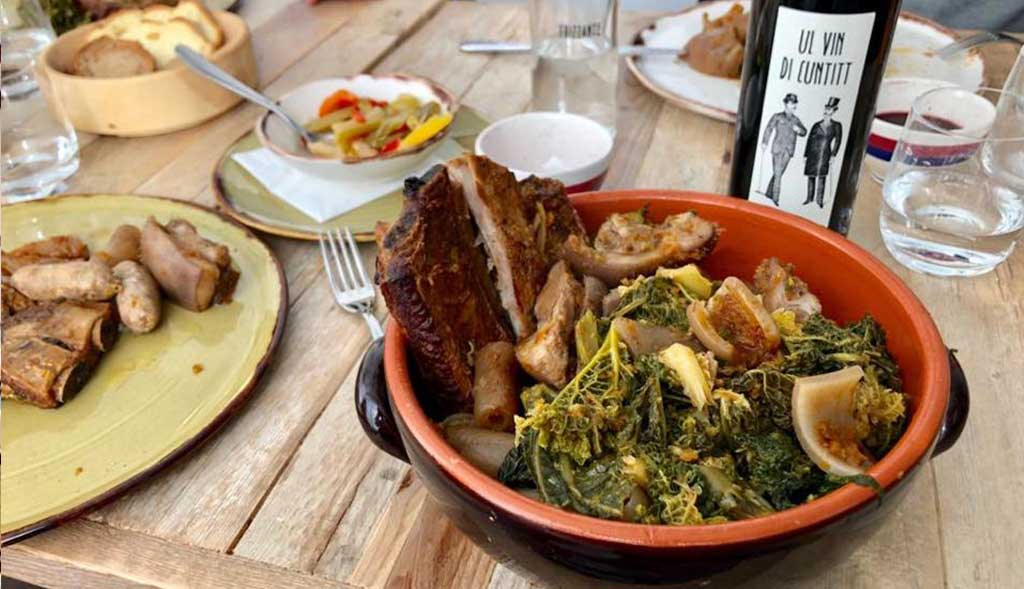 Osteria Enoteca Cuntitt specialità carne