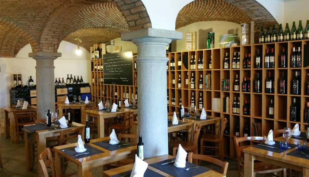 Ristorante Atenaeo del Vino Mendrisio sala