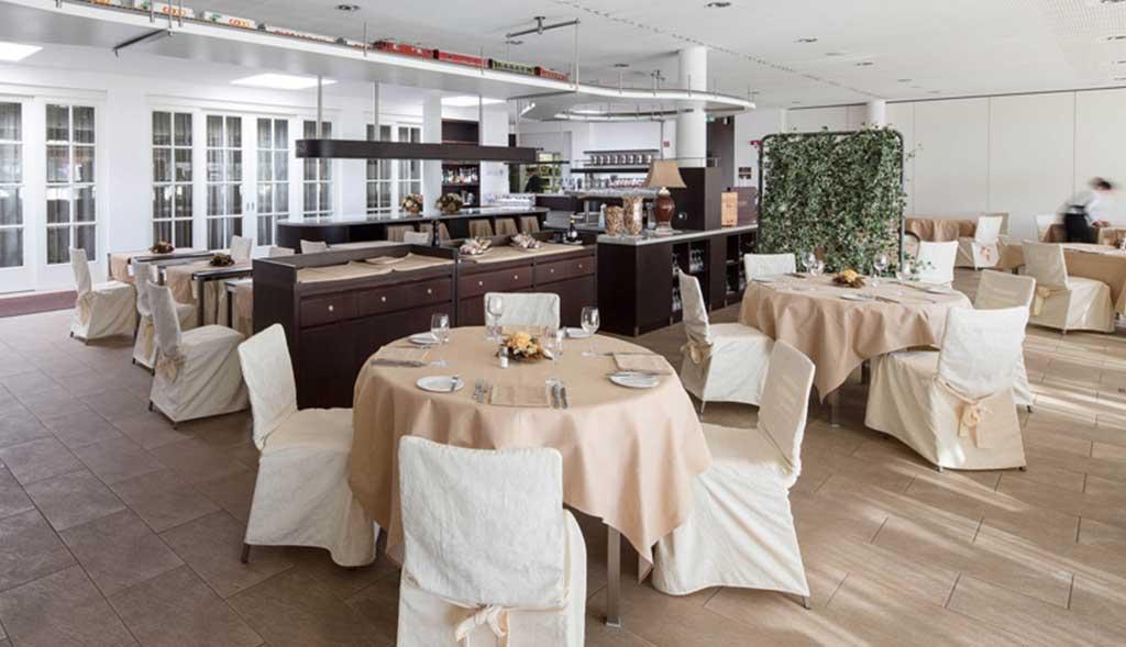 Ristorante Hotel Coronado Mendrisio sala